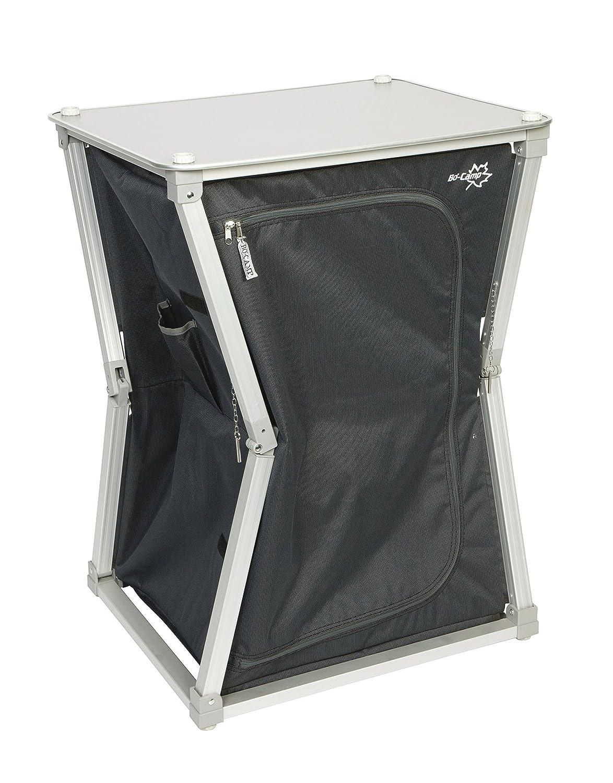 Bo-Camp Quick-up Solid Armario Plegable de 2 Compartimentos 60 x 50 x 85
