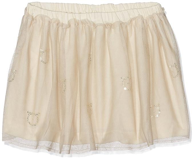 United Colors of Benetton Skirt, Falda para Niños, Beige, 7-8 años