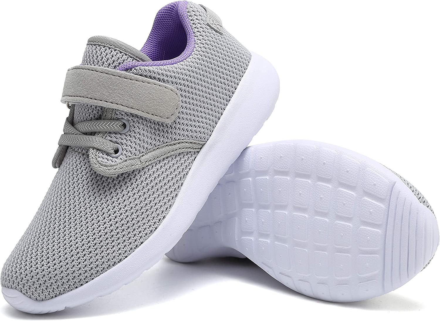 MONTAAS Kids Running Shoes Lightweight Boys Sneakers Girls Breathable Athleti.