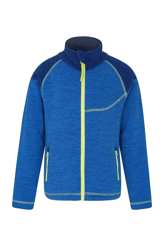 Mountain Warehouse Snowdonia Kids Fleece Jacket - Soft Touch Coat