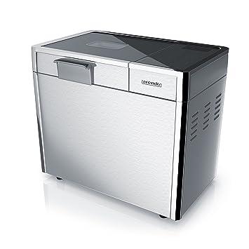 CSL-Computer Arendo Acero Inoxidable – Panificadora (| vollautomatische Panificadora | 12 programas de