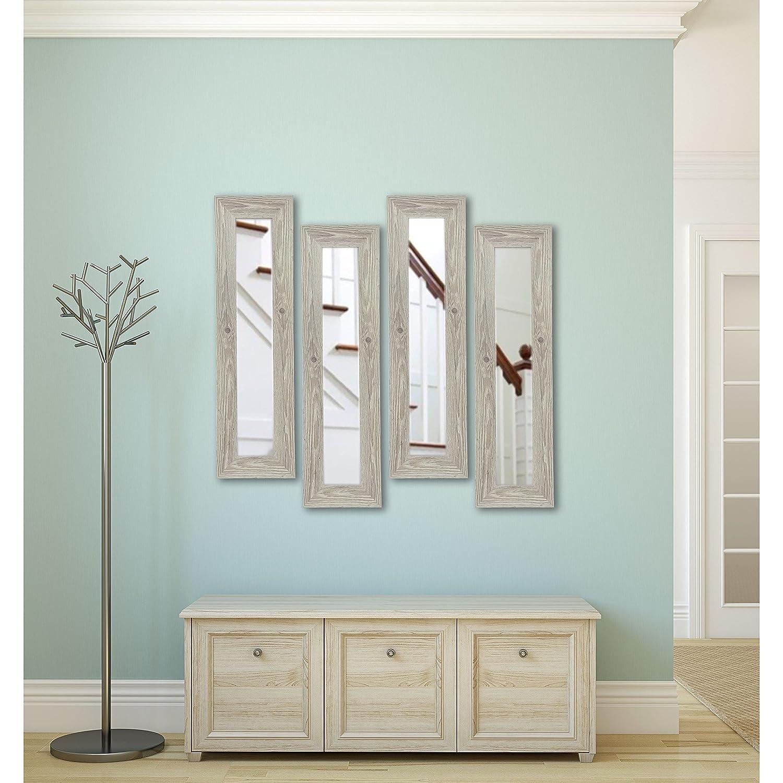 Amazon.com: Rayne Mirrors American Made Rayne White Washed Antique ...