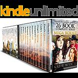 Mail Order Bride 26 BOOK Mega Boxset: Complete Series  (Pioneer Wilderness Romance Box Set Series 3)