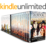 Mail Order Bride 26 BOOK Mega Boxset: Complete Series  (Pioneer Wilderness Romance Box Set Series 3)