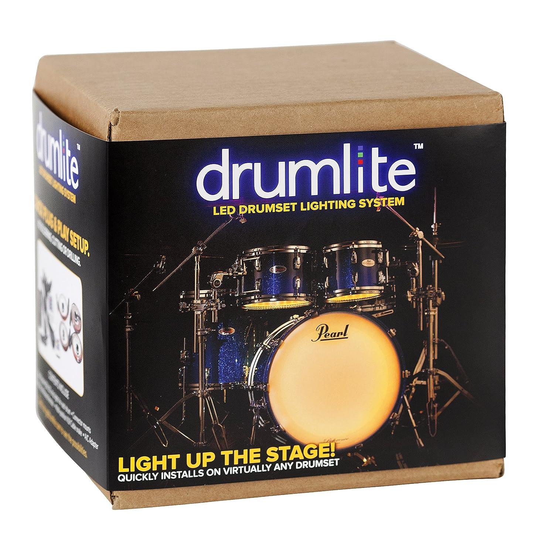 Drumlite DLK3S Single LED Banded Lighting Kit for Drums