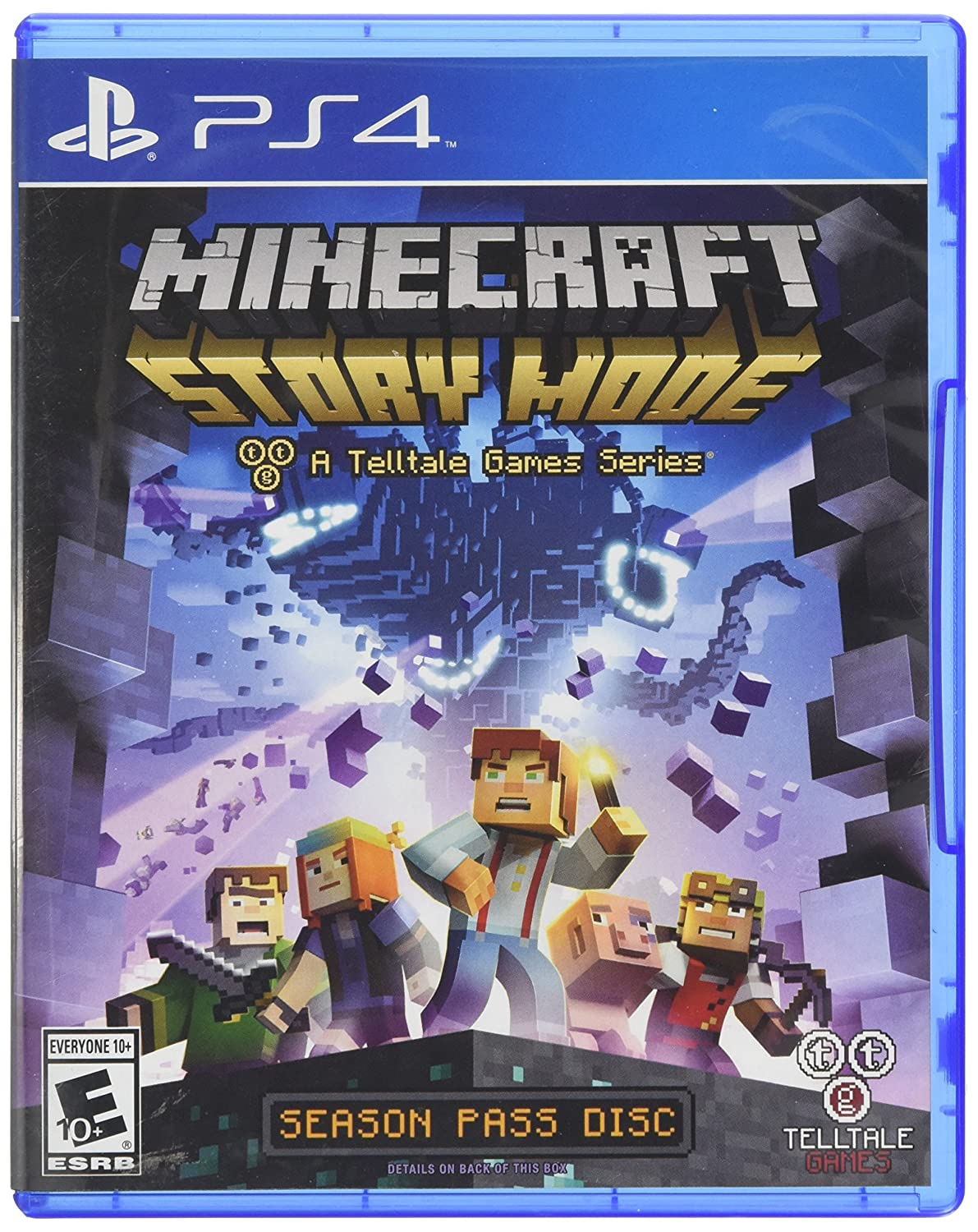 Amazon Com Minecraft Story Mode Season Disc Playstation 4