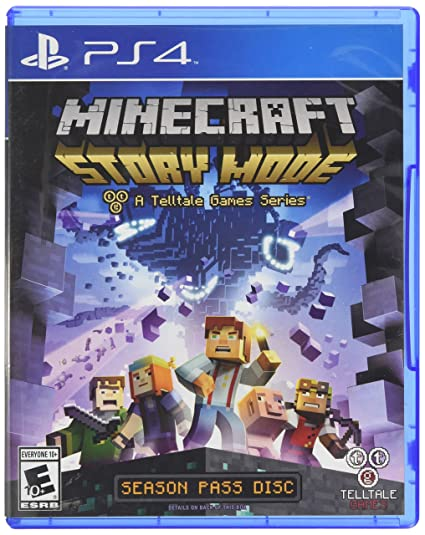 Buy Minecraft: Story Mode (PS4) Online at Low Prices in