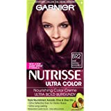 BR2 Dark Intense Burgundy , 1-Count : Garnier Nutrisse Ultra Color Nourishing Color Creme, BR2 Dark Intense Burgundy (Packaging May Vary)