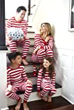Leveret Mens Pajamas Fitted Striped Christmas 2