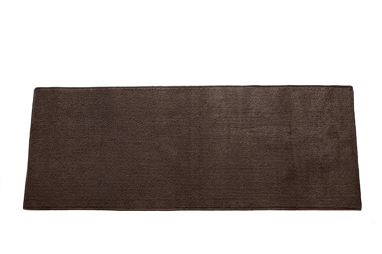 Emerald Wholesale Solid Berber Carpet Runner Rug/Mat, 22 by 90, Brown 22 by 90 BRUN-2290-BRN