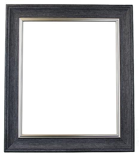 Scandi Vintage Charcoal Grey Picture Photo Frame 8 x 6 inch: Amazon ...