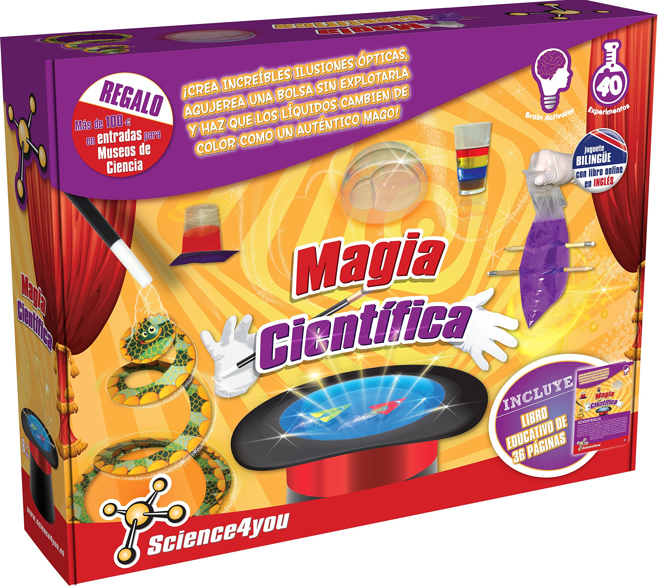 Science4you - Magic with Science - Educational Scientific Toy and Stem