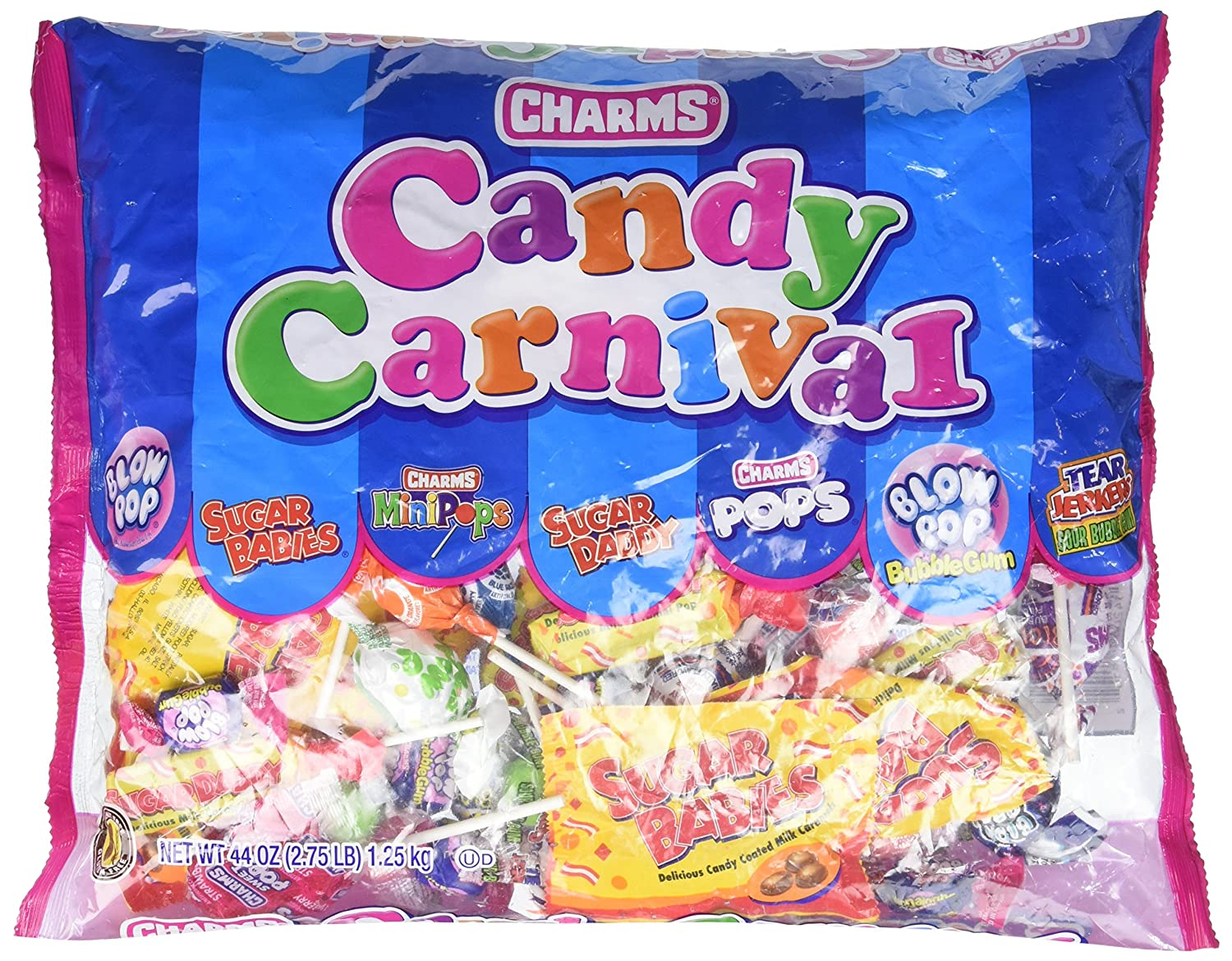 Fun Express Karneval Mix Charms Candy, 2,75 LB.