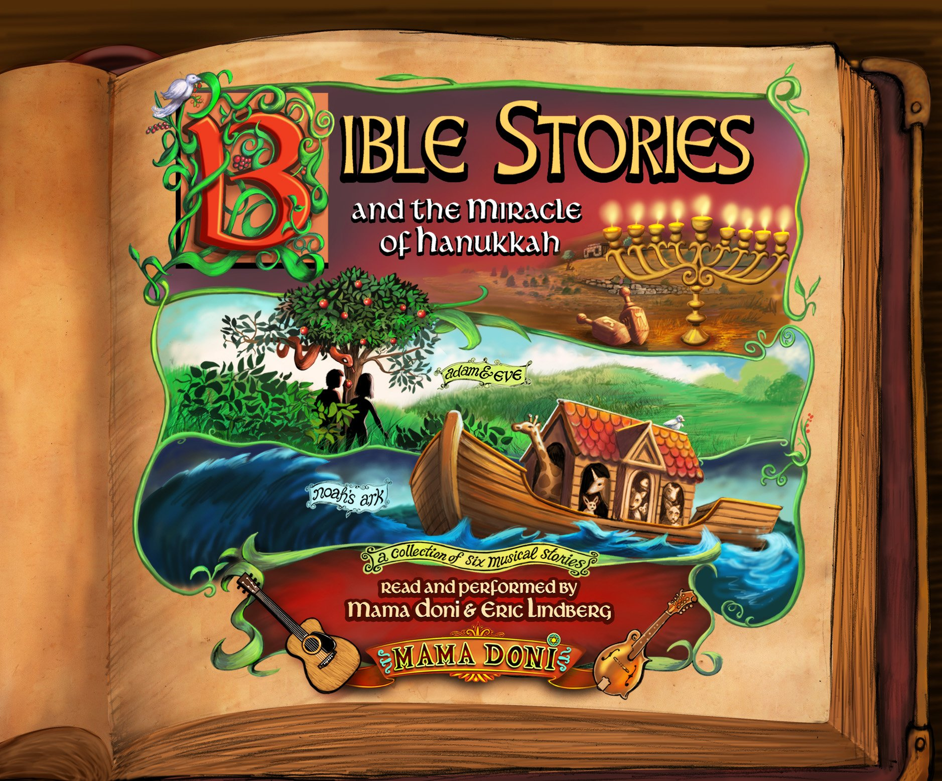 Bible Stories and the Miracle of Hanukkah by Dreamscape Media