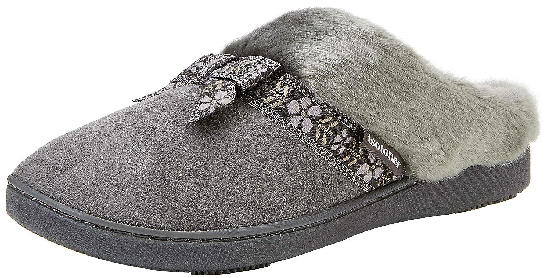 Isotoner Swept Back Mule Slippers, Zapatillas de Estar por casa para Mujer: Amazon.es: Zapatos y complementos