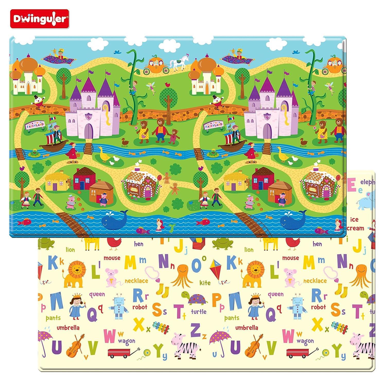 Dwinguler Eco-friendly Baby/ Kid's Play Mat - Fairy Tale Land I & S Co. Ltd. DL15T-fairy land
