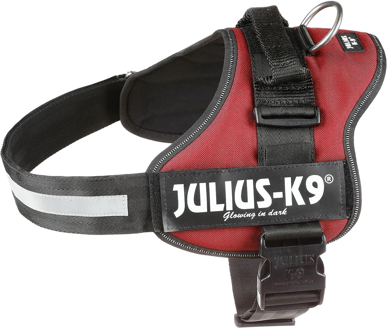 Trixie Power Julius-K9 Harnais pour Chien Bordeaux Taille 1//L