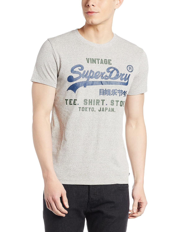 Superdry Shirt Shop Duo Tee, Maglietta Uomo M10016XNF1