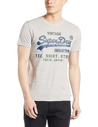 8e65b6881ccf44 Superdry Herren Shirt Shop Duo Tee  Amazon.de  Bekleidung