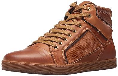 Steve Madden Men's Prinz Sneaker, Dark Tan, ...