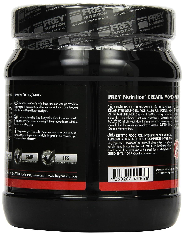 Frey Nutrition Creatin Monohydrat 1er Pack 1 X 500 G Amazonde