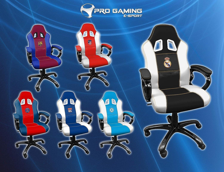 Real Madrid Silla gaming - Sillón gamer de oficina accesorio ...