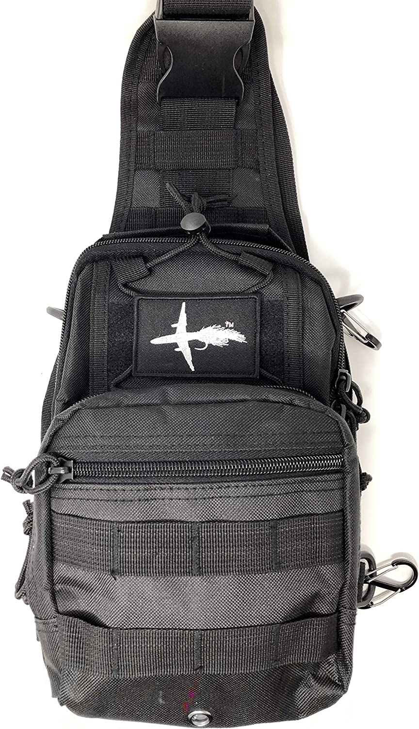 El Bolso Fly Fishing Sling Pack Available Loaded with Files, Tools, Accessories or Unloaded Tactical Fishing Pack The Perfect Size Bag for Fly Fishing Super Simple Yet Functional Durable