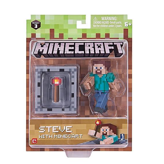 Amazon.com: Paquete de figuras de crieper cargado Minecraft ...