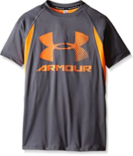 under armour shirts for boys. under armour boys\u0027 heatgear up digi fitted short sleeve shirt shirts for boys r