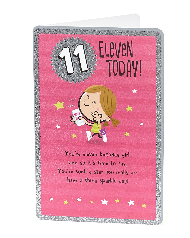 Age 11 Birthday Card