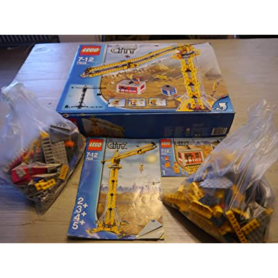 LEGO City Building Crane: Toys & Games