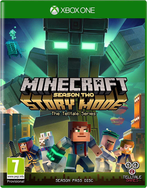 Minecraft Story Mode - Season 12 Pass Disc (Xbox One): Amazon.co.uk