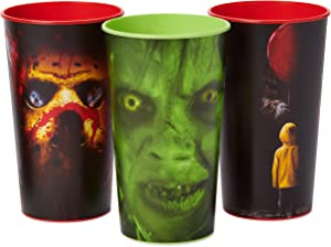 American Greetings Party Supplies, It, The Exorcist & Friday The 13th Party Cups (6-Count)
