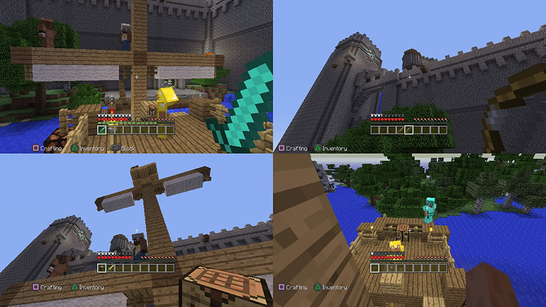 Amazoncom Minecraft PlayStation Sony Interactive Entertai - Minecraft spiele to