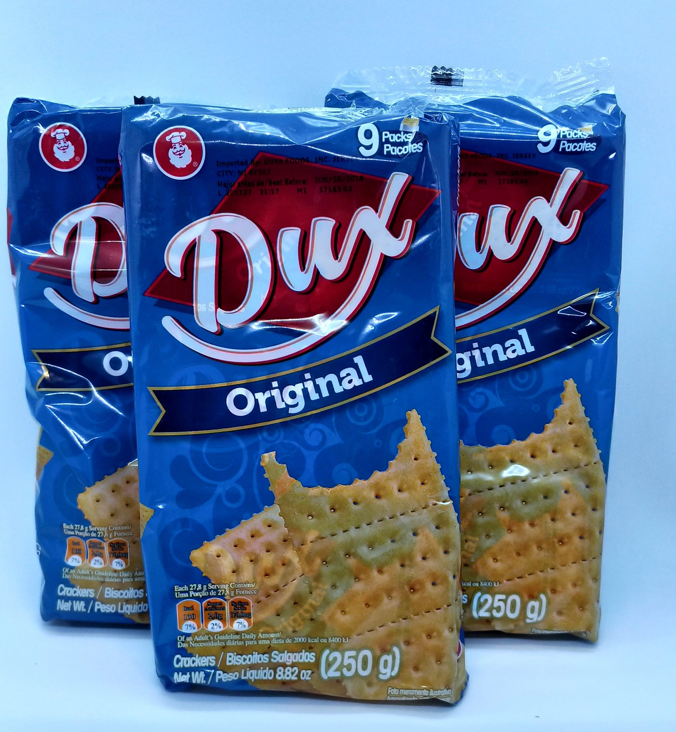 DUX ORIGINAL CRACKER 250G (PACK OF 3)