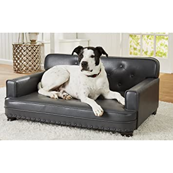 Remarkable Enchanted Home Pet Library Grey Sofa Dog Bed Machost Co Dining Chair Design Ideas Machostcouk
