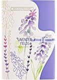 Heathcote & Ivory Lavender Fields Fragranced Drawer Liners, Paper, Ivory, 0.5 x 19.5 x 29 cm
