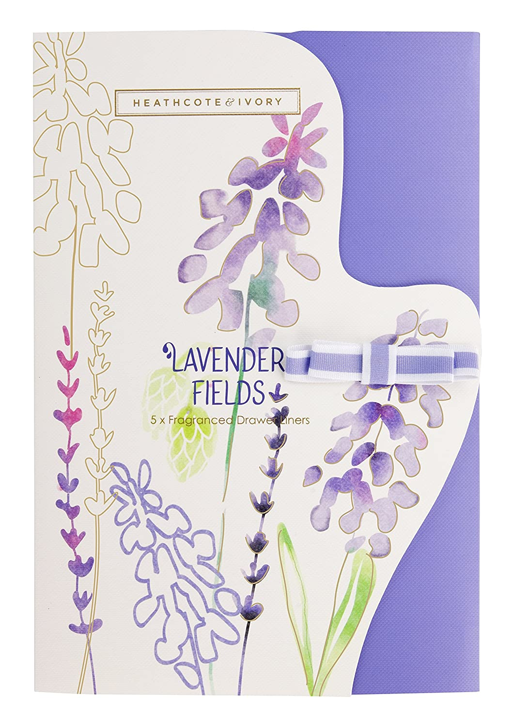 Heathcote & Ivory Lavender Fields Fragranced Drawer Liners FG5704