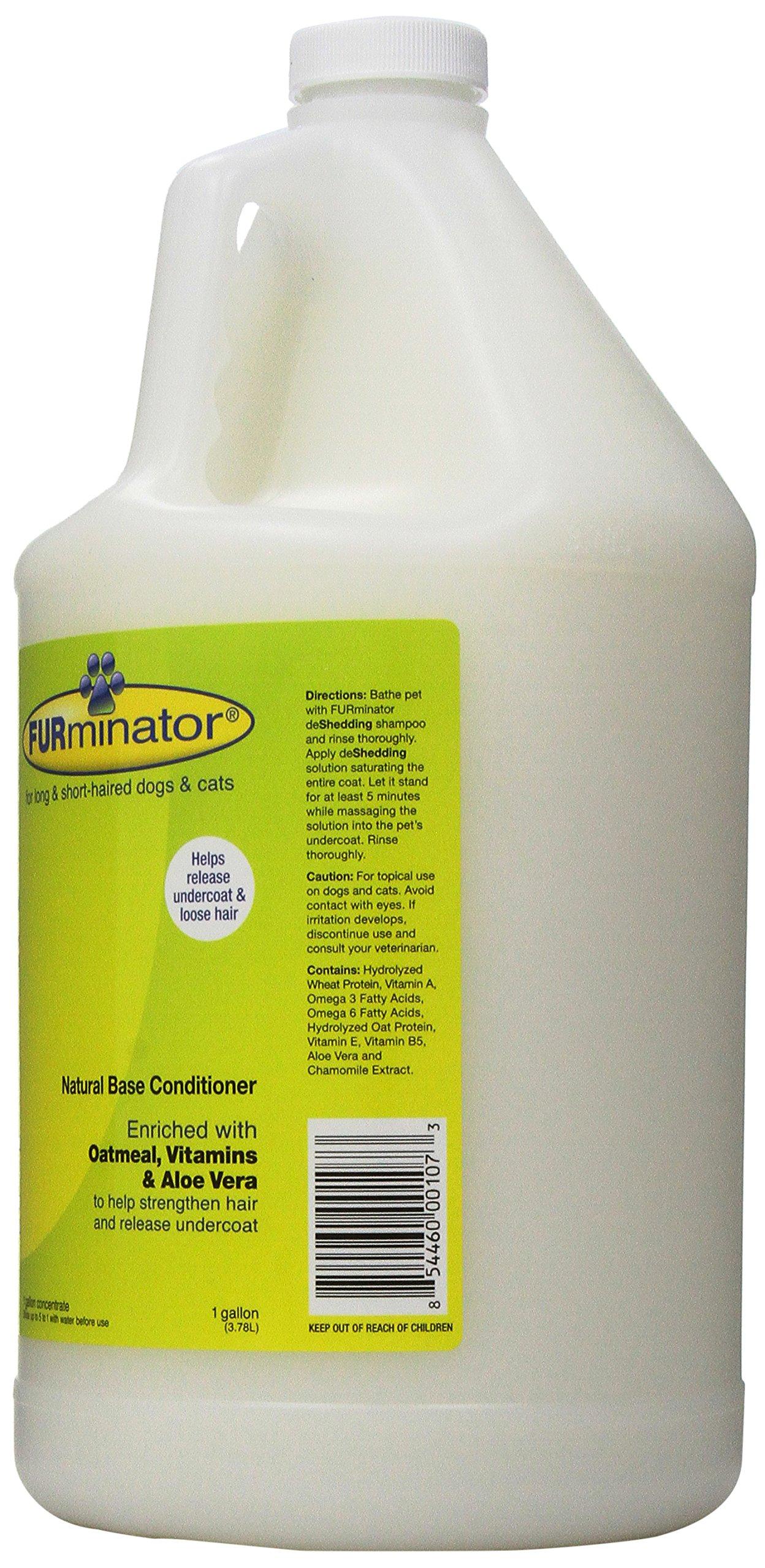 Furminator deShedding Ultra Premium Dog Conditioner, 1-Gallon