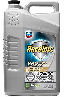 Havoline PRO DS Full Synthetic 5W30 Oil, 5 quart
