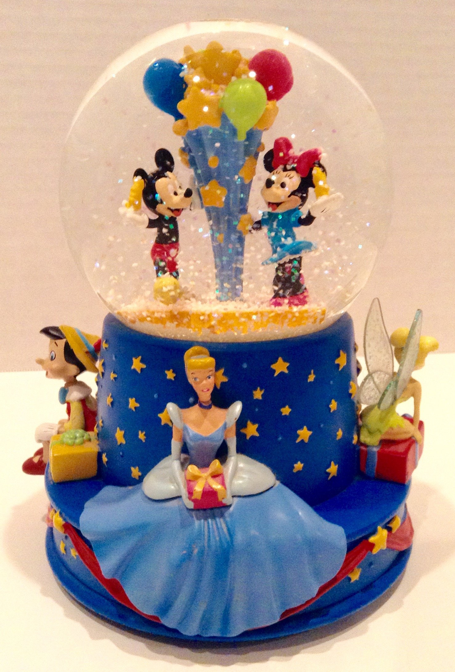 Disney Musical Birthday Water Globe by Disney