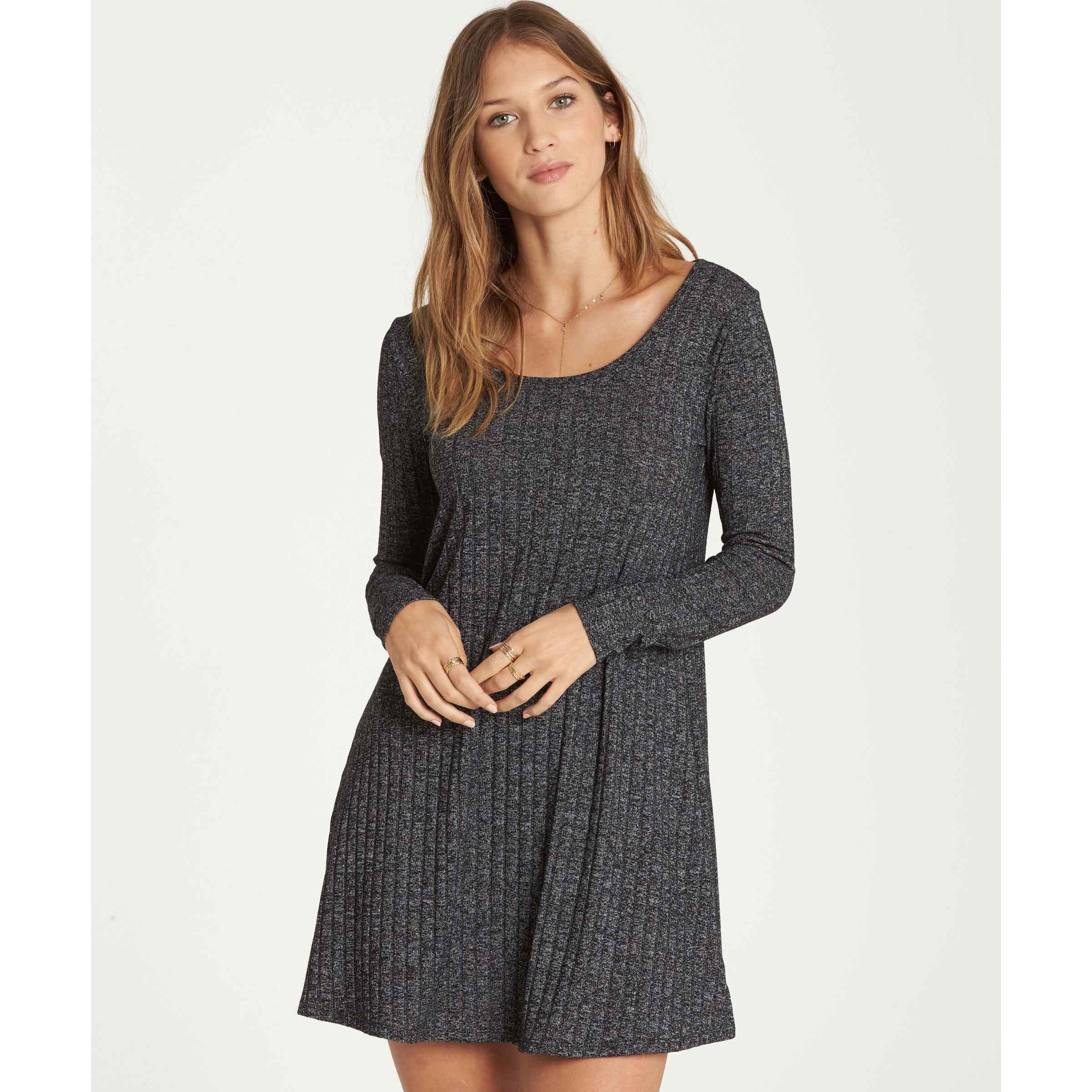 Billabong Women's Heart Dress, Charcoal, S