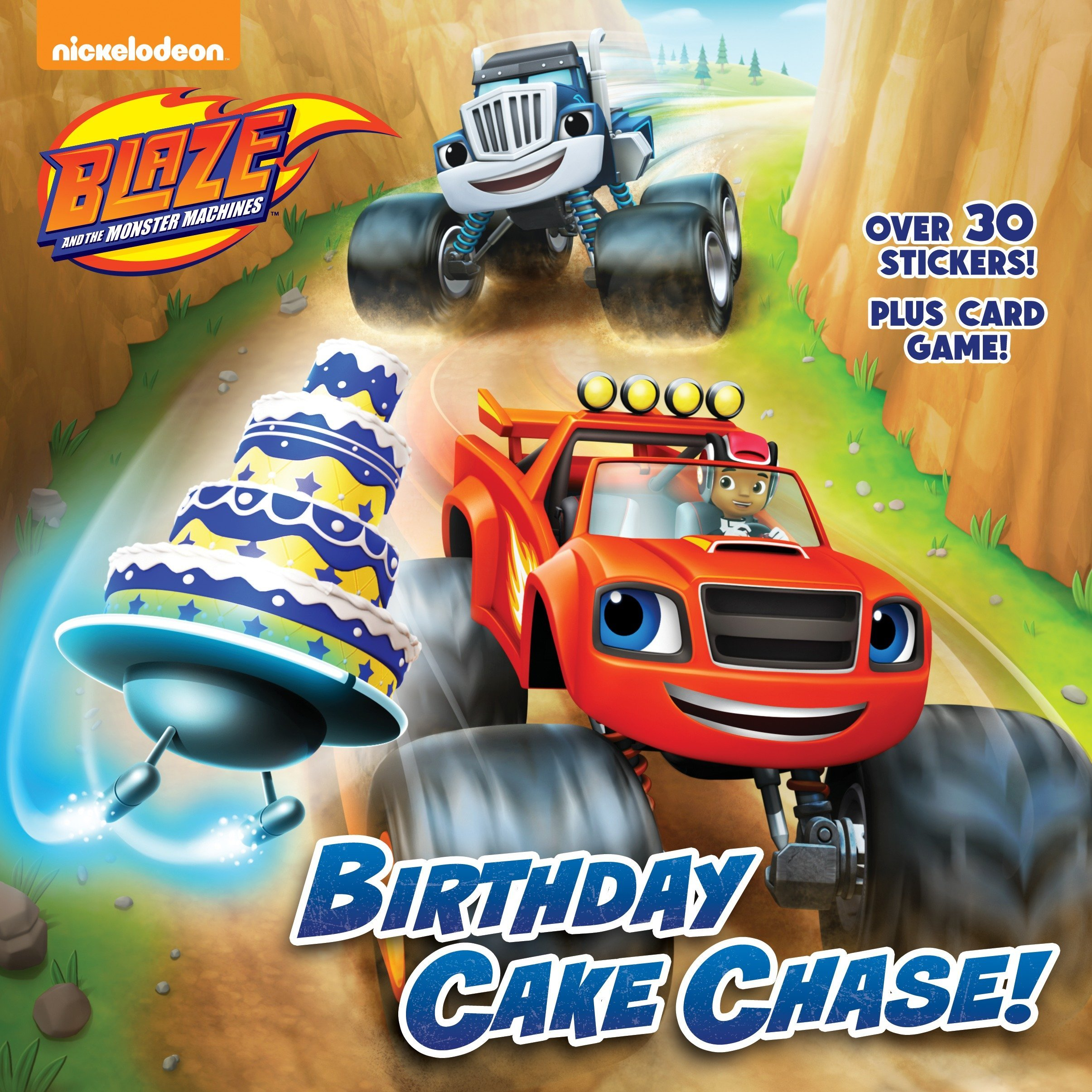 Amazon Birthday Cake Chase Blaze And The Monster Machines