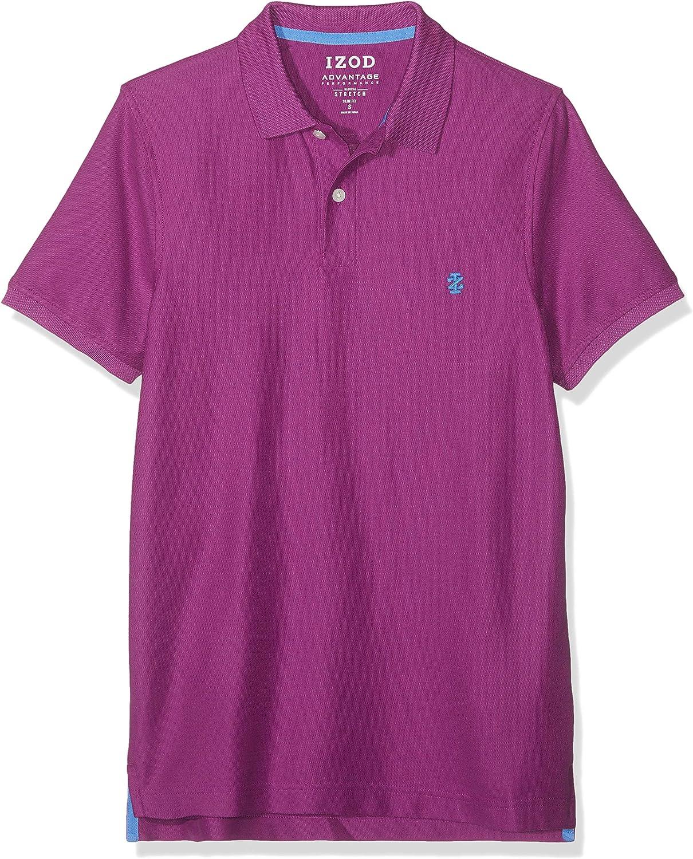 Izod Mens Performance Pique Polo Shirt