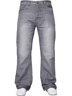 Jean Pour Taille Jambes Évasée Larges Bleu King Homme Coupe Bootcut YbIf7g6yv
