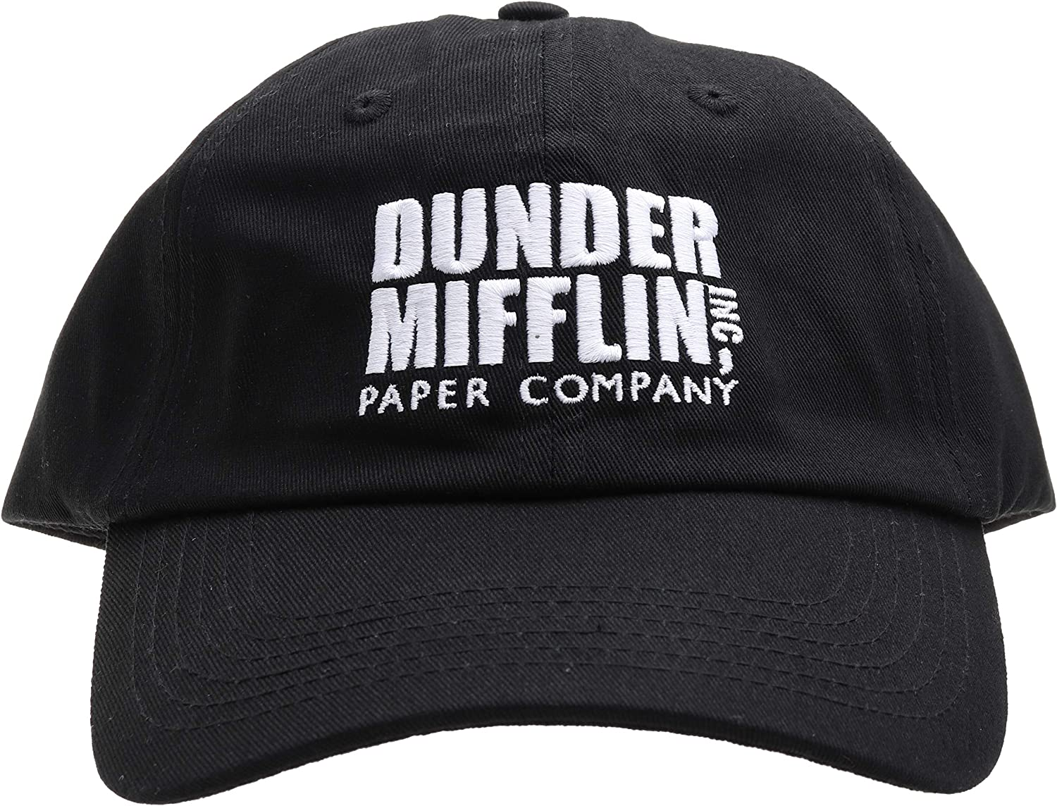 Molosof Dunder Mifflin Dad Hat Paper Company INC The Office TV Show Baseball Cap