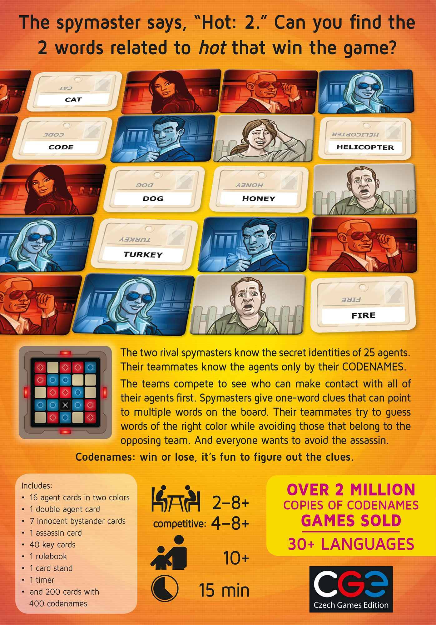 Codenames by Czech Games (Image #2)