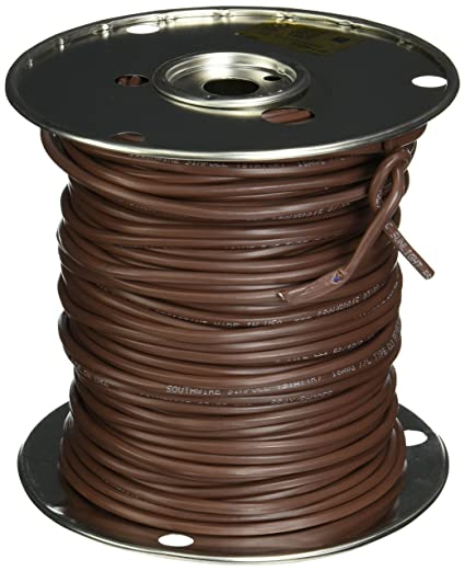southwire 64170444 18 7 250 feet 7 conductor thermostat wire 18 rh amazon com thermostat wire gauge thermostat c wire gauge