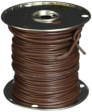 Southwire 64170444 18/7 250-Feet 7 Conductor Thermostat Wire, 18 ...