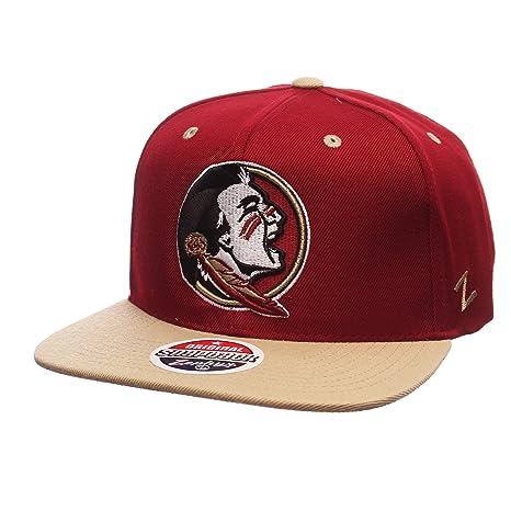 b43e67db7de73d Amazon.com : Zephyr NCAA Florida State Seminoles Men's Z11 Snapback Hat,  Adjustable Size, Team Color : Sports & Outdoors